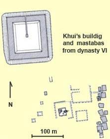 King Khui pyramid at Dara