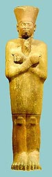 Colossal sandstone statue of king Mentuhotep from Metropolitan Museum of Art, New York