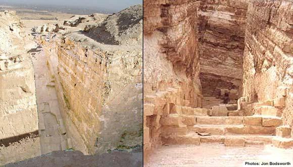 The Pyramid At Abu Roash