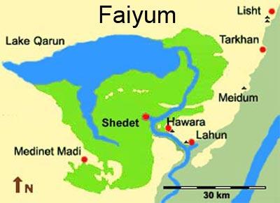 The Faiyum Fayoum Faijum Faiyoum - Map of fayoum egypt